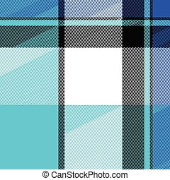 Plaid Texture - Blue striped plaid pattern that tiles...