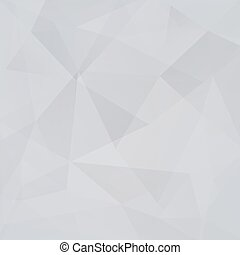 Silver geometric background