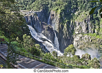 Barron Falls Kuranda - barron falls which is located in the...