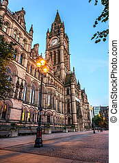 Manchester Town Hall - Manchester town hall is where city...