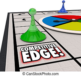 Competitive Edge Board Game Winning Advantage Success