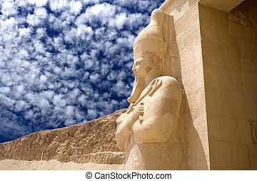 Temple of Queen Hatshepsut - Image of the Temple of Queen...
