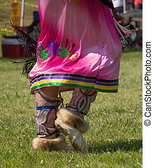 Dancing feet - Traditional Native Dancing feet