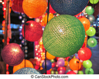 Thai Decoration, 2007 - Balls and Decorations in Koh-Samui,...
