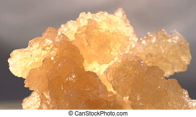 Crystal Sugar from an Ancient Recip - Front of the camera...