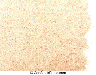 sand pile - pile of sand isolated on white background