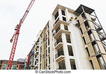 Construction Site building