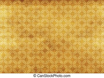 Vintage Sepia Background with Decorative Pattern Vintage...