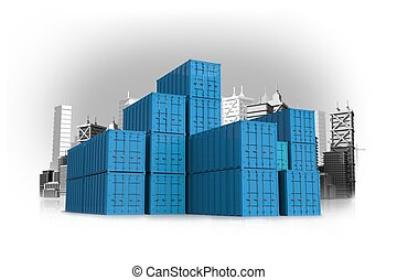 Shipping Containers Concept