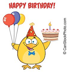 Happy Birthday With Chick