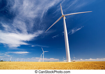 Wind Energy - A wind farm in South Australia