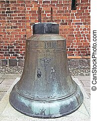 Mary Magdalene church bell - The bell with the image of the...