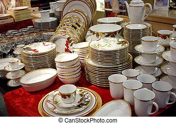 dishware china - china tableware cups saucers bowls plates...