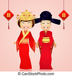 traditional costume chinese wedding