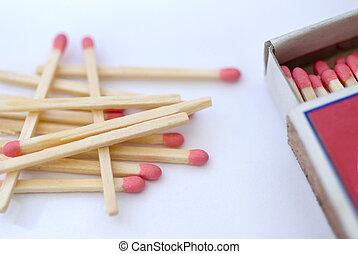 matchs and matchbox
