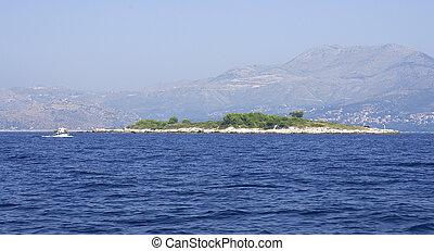 Supetar Island in Croatia