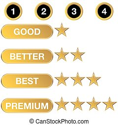 Rating Chart Icon