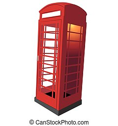 United Kingdom Telephone Booth - An image of a classic UK...