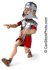 legionary, romain, soldat