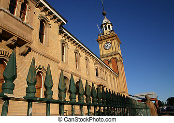 Customs House - Newcastle Australia - A prominent local...