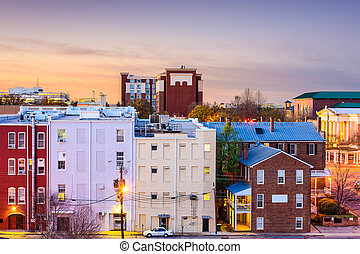 Athens, Georgia, USA downtown cityscape