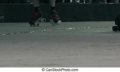 Roller Skates Closeup Battle Royal - The closeup chaos of...