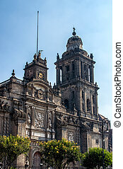 The Metropolitan Cathedral Cathedral Metropolitana in Mexico...