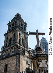 The Metropolitan Cathedral (Cathedral Metropolitana) in...