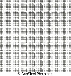 seamless halftone pattern of squares - Seamless vintage...