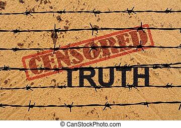 Censored truth