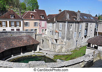 Tonnerre France - Tonnerre in the Morvan, Burgundy, France...