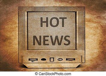 Hot news on vintage TV