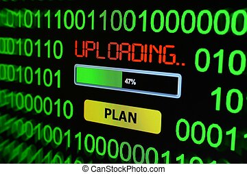 Uploading plan