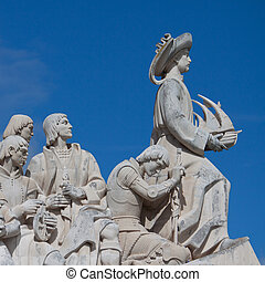 Lisbon, Portugal - The Monument to the Discoveries in...
