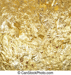 gold leaf - The gold leaf  For the background and textures.