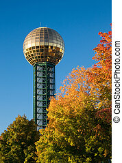 Knoxville Sunsphere - Knoxville, Tennessee Sunsphere with...