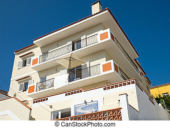 Holiday homes in Portugal - Holiday homes seen in Nazare,...