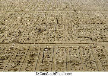 Hieroglyph - The hieroglyph is Developed in the late fourth...