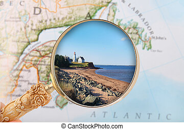 Panmure, Prince Edward Island - Looking in on Panmure Island...