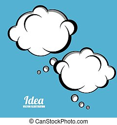 Idea design, vector illustration,