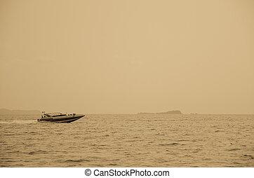 スピード, ボート, 航海