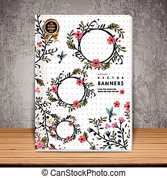 graceful book cover design