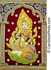 Hindu female goddess - Hindu female Goddess decorative...
