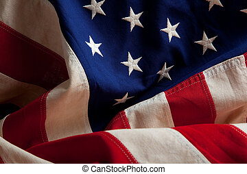 An american flag background - An american flag as a...
