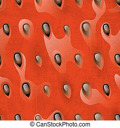 Watermelon pulp seamless, vector pattern for your design,...