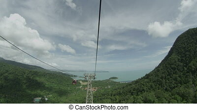 Langkawi Cable Car Ride in 4K