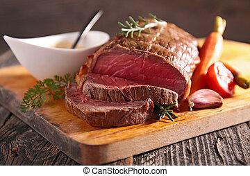 roasted beef fillet