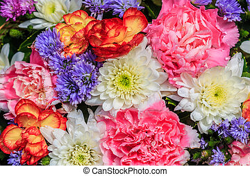 beautiful bouquet flowers