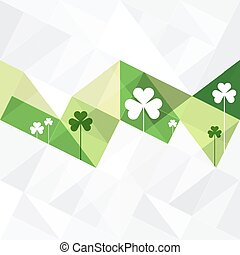 St. Patricks Abstract Background