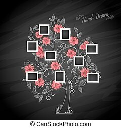 Photo - Memories tree with photo frames Insert your photos...